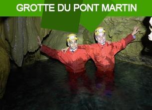 grotte du pont martin
